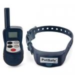 """Collar de adiestramiento """"Trainer 350"""" de Petsafe - Collar de adiestramiento por impulsos """"Trainer 350"""" de Petsafe. Especial para perros pequeños. Puede usarse con 1 ó 2 perros y alcanza hasta 350 metros. Con batería recargable. Tiene 8 niveles de impulso contínuo, botón booster y aviso sonoro."""