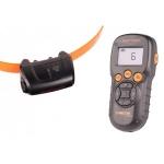 Collar de adiestramiento Canicom 5.201 - Collar de adiestramiento por impulsos Canicom 5.201. Para usarse con un perro, alcanza hasta 200 metros. Funciona con pila CR2. Tiene 10 niveles de impulso contínuo, botón booster, vibración y aviso sonoro.