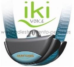 Collar Antiladridos para perros Iki Voice - Collar Antiladridos para perros Iki Voice, dise�ado para un control de los ladridos  de perros peque�os y medianos sensibles. Funciona mediante vibraci�n y sonido.