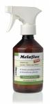 """Antiparasitario externo """"Melaflon Spray"""" de Anibio - Antiparasitario externo """"Melaflon Spray"""" de Anibio. Protege contra garrapatas, pulgas, mosquitos, chupadores y ectoparásitos. Fabricado con sustancias activas vegetales como el geraniol. Aplicación en spray a contrapelo sobre el cuerpo del animal."""