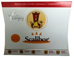 Collar Scalibor para perros anti pulgas, garrapatas y mosquitos Flebotomos - Collar Scalibor antiparasitario que protege a sus perros contra picaduras de pulgas, garrapatas y mosquitos y las enfermedades que transmiten.