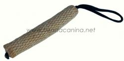 Rollo de yute con asa para perros (25cm) - Rollo en yute con asa para perros de defensa. Dispone de un asa en uno de los laterales para sujetar firmemente el mordedor.