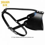 Bozal de entrenamiento semi abierto Julius K9 - Bozal de cuero de entreno semi abierto para perros. Fabricado en cuero muy ligero ideal para entrenamiento de mordida.