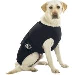 Anxiety Wrap Camiseta anti-estrés para perros - Camiseta anti-estrés para perros Anxiety Wrap. Ayuda al perro a afrontar situaciones de estrés y miedo como los cohetes, las tormentas, ansiedad por separación, etc. Fabricada con licra y nylon se ajusta al cuerpo del perro proporcionandole seguridad. Disponible en varias tallas.