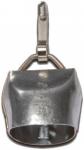 Campana de acero Chamonix con enganche para perros - Campana de acero al carbono Chamonix 2/0. Con mosquet�n de pinza para enganchar en el collar. Sonido muy audible en el campo.