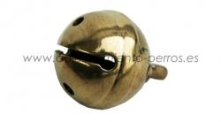 Cascabel de bronce 26 mm - Cascabel de bronce de excelente calidad 26 mm de di�metro para la localizaci�n del perro de becada y de conejo.