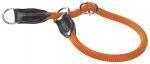 Collar de adiestramiento de lazo de nylon redondo Hunter - Collar de nylon redondo grueso en forma de lazo para perros Hunter. Fabricado en nylon redondo par auna mayor suavidad. Con acabados en cuero y tope metálico. Disponible en varios colores.