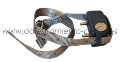 Collar ficticio de adiestramiento - Imitación perfecta de un collar de adiestramiento, para que su perro crea que lleva puesto su collar.