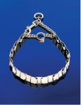 Collar metálico de semi-ahogo Sprenger Neck-Tech sin pinchos - Collar metálico de semi-ahogo en acero inoxidable Neck Tech sin pinchos de la prestigiosa marca Sprenger.