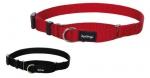 """Collar de nylon de semi-ahogo """"Red Dingo"""" - Collar de nailon para perros de todos los tamaños, razas desde muy pequeñas hasta muy grandes. Con sistema de semi-ahogo, ideal para un adiestramiento suave y así evitar que el perro tire de la correa. Disponible en rojo y negro."""