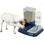 Tolva Comedero y Bebedero para perros Duo Max - Administrador de agua y comida para perros, diseñado en dos tolvas muy fáciles de rellenar. Ideal para dejar agua y comida durante varios días.