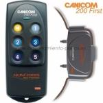 Collar Canicom 200 First con mando de adiestramiento para perros - Collar Canicom 200 First de adiestramiento con mando para perros a partir de 4 kg, con 200 metros de alcance. El collar idóneo para educar 1 perro y de forma muy sencilla.