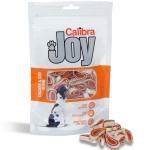 Golosinas para perros Calibra Chicken & Cod Sushi - Golosinas para perros Calibra Joy Chicken%Cod Sushi. Snacks fabricados a base de carne de pollo y bacalao deshidratado, muy bueno para pelo y piel. Con alta digestibilidad y gran valor nutricional. Reduce la formación de sarro.