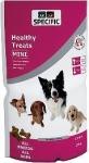 Golosinas para perros con sobrepeso Specific Healthy Treats - Snacks para perros con sobrepeso. Huesitos con alto contenido en fibra y bajos en grasa. Para reducción de peso y aptos para perros diabéticos. Formato mini y normal.