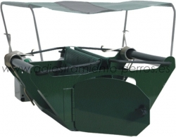 Kit Jaula lanzadera CaniFly con mando Canicom 1500 PRO - Kit completo de jaula lanzadora Canifly de pájaros con mando Canicom 1500 PRO. Ideal para el adiestramiento de los perros de caza y de concurso.