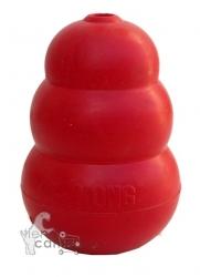 Juguete Kong para perros rojo Classic  - Juguete Kong rojo Classic educativo y de entretenimiento.  Ideal para perros con tendencia a la ansiedad de separación o con manías de mordisquear los muebles.