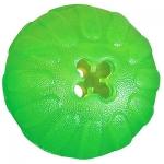 Juguete para perros Chew Ball de Starmark - Juguete pelota para perros fabricada en silicona blanda y muy resistente. Rellenable con comida para que el perro se entretenga sacandola. Disponible en varios tamaños para todo tipo de perros.
