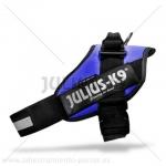 """Arnés para razas grandes Julius K9 modelo """"IDC T1-3"""" - Arnés Julius K9 modelo """"IDC"""" de paseo y de adiestramiento canino para razas grandes. El único arnes que se pone sin levantar las patas de su perro! Disponible en negro, rojo, azul marino, azul cielo, kiwi, camuflaje, naranja y rosa. Disponibles opcionalmente etiquetas personalizadas. La versión más moderna del arnés Julius K9."""