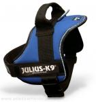"""Arnés para razas medianas Julius K9 modelo """"Power k9 T0"""" - Arnés Julius K9 modelo """"Power k9"""" de paseo y de adiestramiento canino para razas medianas. El único arnes que se pone sin levantar las patas de su perro! Disponible en negro, rojo, azul marino, azul cielo, kiwi, camuflaje, naranja, rosa, morado, agua marina, gris y beige. Disponibles opcionalmente etiquetas personalizadas."""