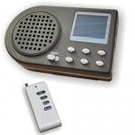 Reproductor de cantos digital con mando - Reproductor de cantos con sonido mp3. Para enseñanza de pájaros y adiestramiento de perros. Con más de 100 cantos incluidos y mando con alcance de hasta 200 metros. Funciona con batería de litio.