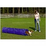 Tunel rígido Corto económico para Agility - Tunel rígido Corto para Agility para perros pequeños. Se puede fijar en tierra, (kit de fijación incluido). Longitud máxima: 200 cm. Diámetro: 60 cm.