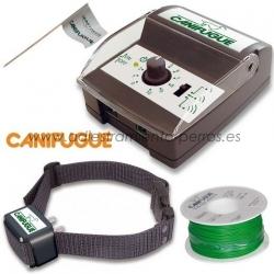 Kit de valla invisible para perros Canifugue - El Kit de valla invisible para perros Canifugue es un sistema eficiente, estético y ético para mantener un perro dentro de un territorio concreto.