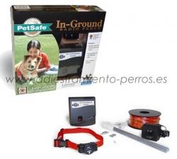 Kit completo de valla invisible Radio-Fence Ultralight - Valla invisible Radio-Fence Ultralight, para evitar que tu perro se escape del jardín sin tener que vallarlo con cercado aparente. Especial perros pequeños, puede valer para gatos.