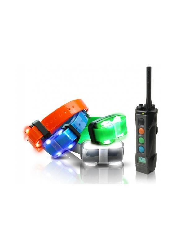 Collar de adiestramiento Dogtra 4500 EDGE - Collar de adiestramiento Dogtra 4500 EDGE. Para sincronizarlo con hasta 4 perros con un alcance máximo de 1600 metros. Con 127 niveles de intensidad contínua o flash, vibración y posibilidad de cambiar a intensidad escalonada con 8 niveles de estímulo. Con luz de localización LED en el collar.