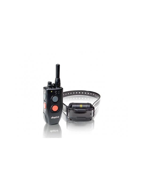Collar de adiestramiento Dogtra 600M - Collar de adiestramiento Dogtra 600M. Para usar con hasta dos perros en distancias de hasta 600 metros. Mando y collar funcionan con batería de litio recargable. Con vibración y estimulación contínua o flash con 100 niveles de intensidad.