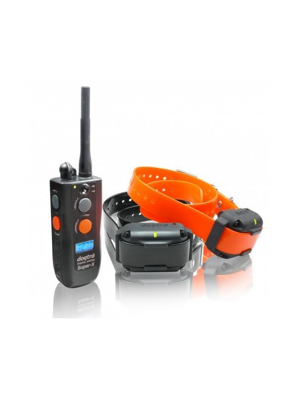 Collar de adiestramiento Dogtra 3502 NCP - Collar de adiestramiento Dogtra 3502 NCP. Para uso con hasta dos perros y con hasta 1600 metros de alcance. Tiene 127 niveles de intensidad y vibración. Con regulador de intensidad media y suave. Funciona con batería recargable de carga rápida en sólo 2 horas.
