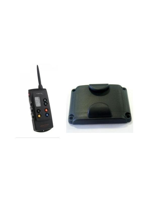 Accesorios para collar adiestramiento Canicom 1500 - Accesorios para el collar de adiestramiento Canicom 1500. Mando y tapa para la batería.