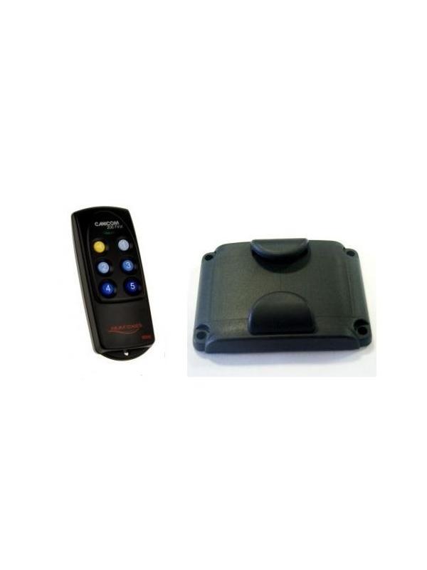 Accesorios para collar adiestramiento Canicom 200 first - Accesorios para el collar de adiestramiento Canicom 200 first. Mando y tapa para la batería.