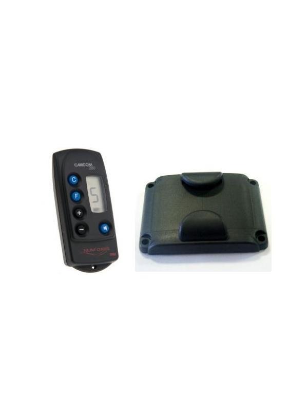Accesorios para collar adiestramiento Canicom 200 LCD - Accesorios para el collar de adiestramiento Canicom 200 LCD. Mando y tapa para la batería.