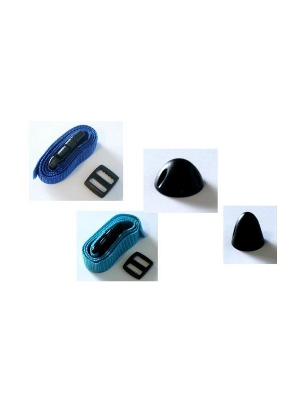 Accesorios para antiladridos Iki de Canicom - Accesorios para los antiladridos Iki de Canicom. Detectores cortos y largos y correas de nylon intercambiables para Iki Voice, Iki Sonic e Iki Spray.