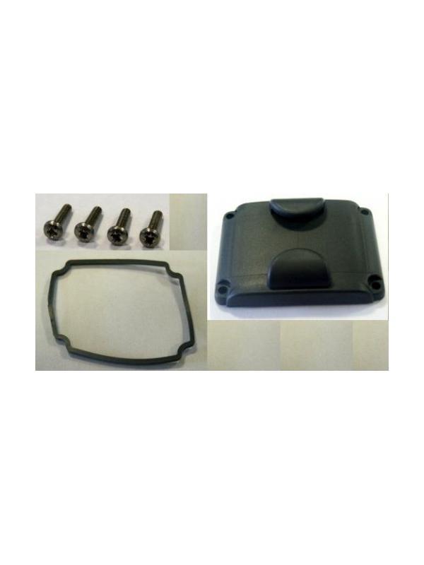 Accesorios para tapas de los collares de Canicom - Accesorios para las tapas de los collares de adiestramiento Canicom. Juntas de goma para la tapa, tornillos para la tapa y tapa para la batería.