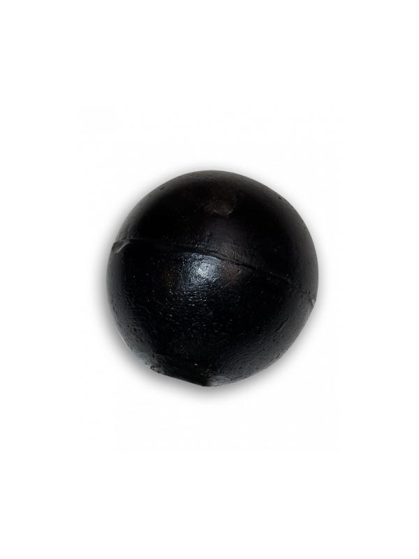 Aport para lanzador bola de plástico - Señuelo para lanzador de apports de plástico flotante con forma de bola, para cobros en agua y tierra.