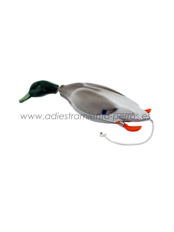Aport de espuma flotante diseño de Pato - Señuelo de espuma flotante diseño de Pato con cuerda para lanzamiento manual.