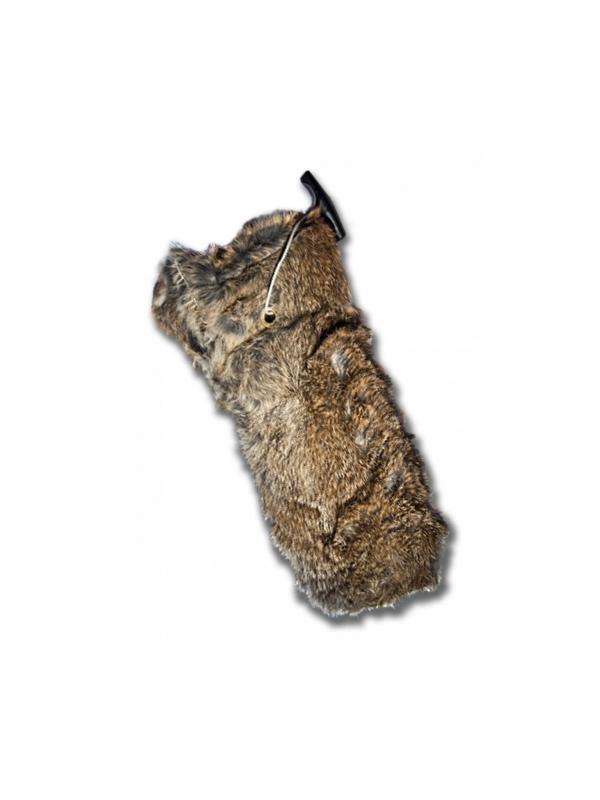 Aport de piel de conejo para perros