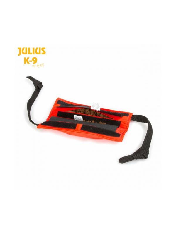 Aport rellenable Yankee Map Julius K9 para perros - Aport porta premios rellenable con velcro. Con compartimentos interiores con cierre de velcro para introducir premios. Ideal para enseñar al perro el cobro en positivo o simplemente pasar un rato agradable con él.