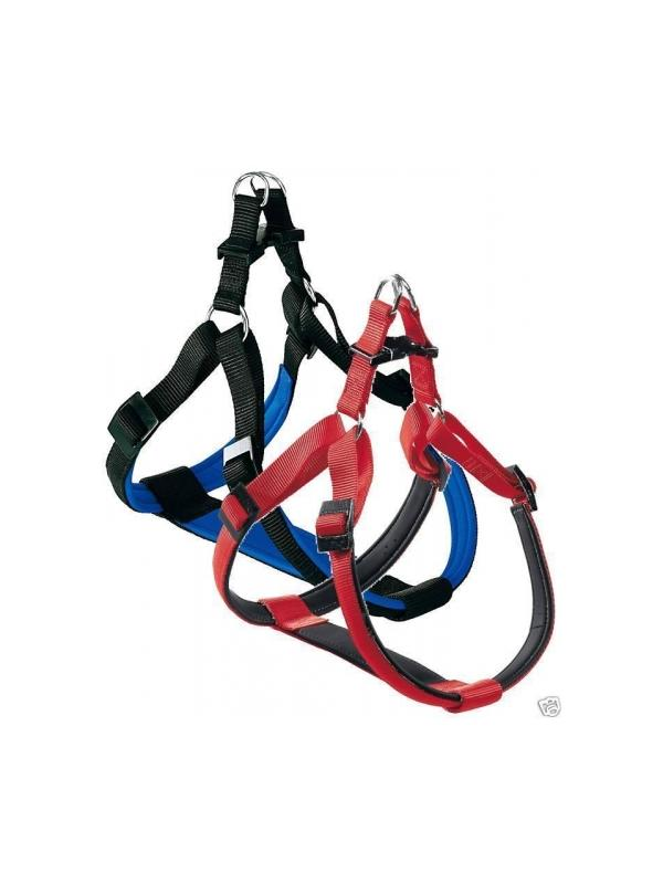 Arnes de nylon ergonómico y reforzado para perros