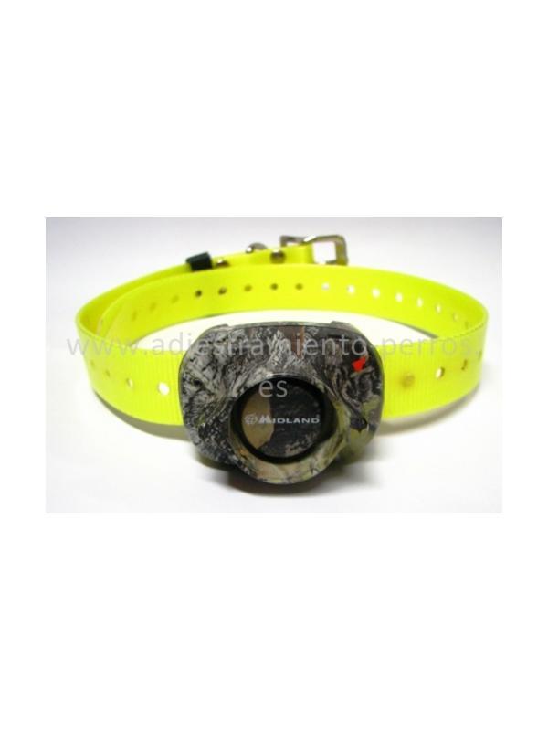 Collar adicional para equipo de becada con mando Beeper One pro - Collar adicional para kit de becada con mando para perros Beeper One pro. Un mando para llevar hasta 2 collares. Tanto collar como mando recargables