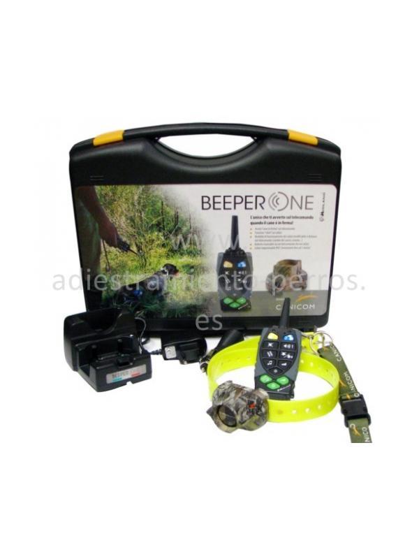 Kit de collar de becada con mando Beeper One pro - kit completo de collar de becada con mando para perros Beeper One pro. Mando para llevar hasta 2 collares. Tanto collar como mando recargables