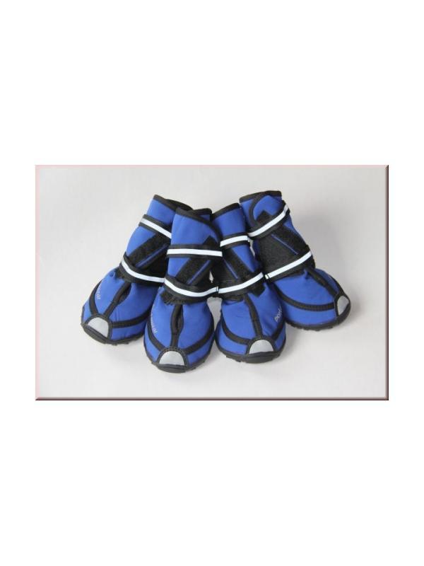 Bota de protección altas para perros Porta Wear - Pack de 4 botas para perros altas de soft shell. Fabricadas para proteger las almohadillas de los perros. Con cierres de velcro para ajustarlas a la pata. Varios tamaños disponibles.