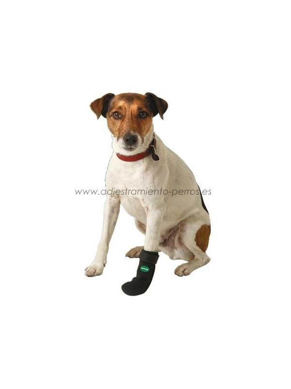Botas de protección de neopreno para perros - Botas de protección elaboradas en un material blando, resistente y de buen agarre llamado neopreno, para la prevención de heridas o erosiones en las patas de su perro. Vendidas por pares, para comprar el kit de 4 patas, hay que pedir 2 pares!