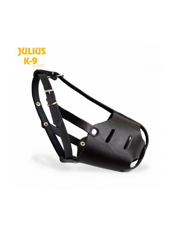 Bozal de cuero cerrado Julius K9 para perros