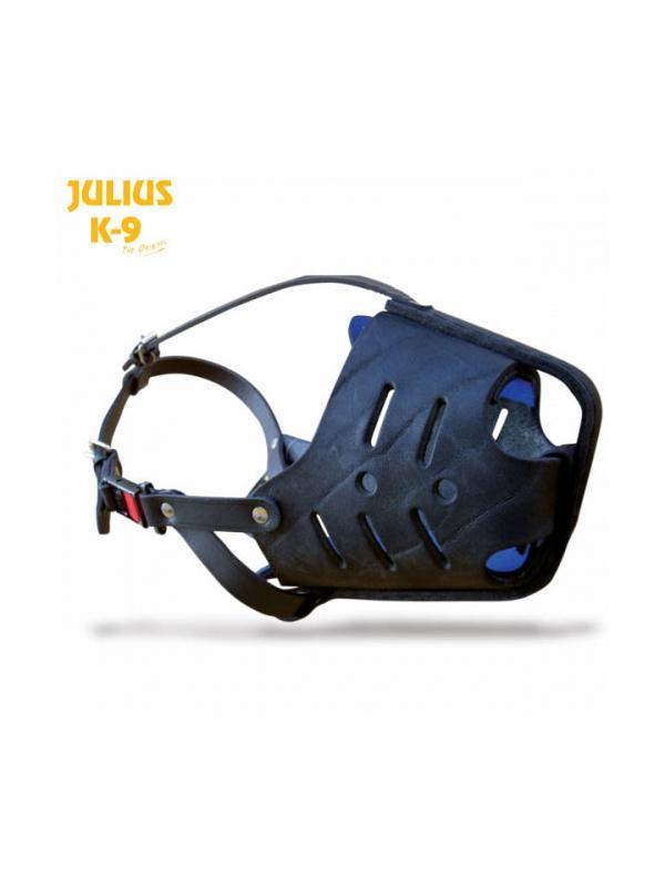 Bozal de impacto policial Julius K9 - Bozal de impacto policial para perros. Fabricado en cuero con la punta reforzada en metal. Para el entrenamiento de perros de defensa. Uso exclusivo profesional.