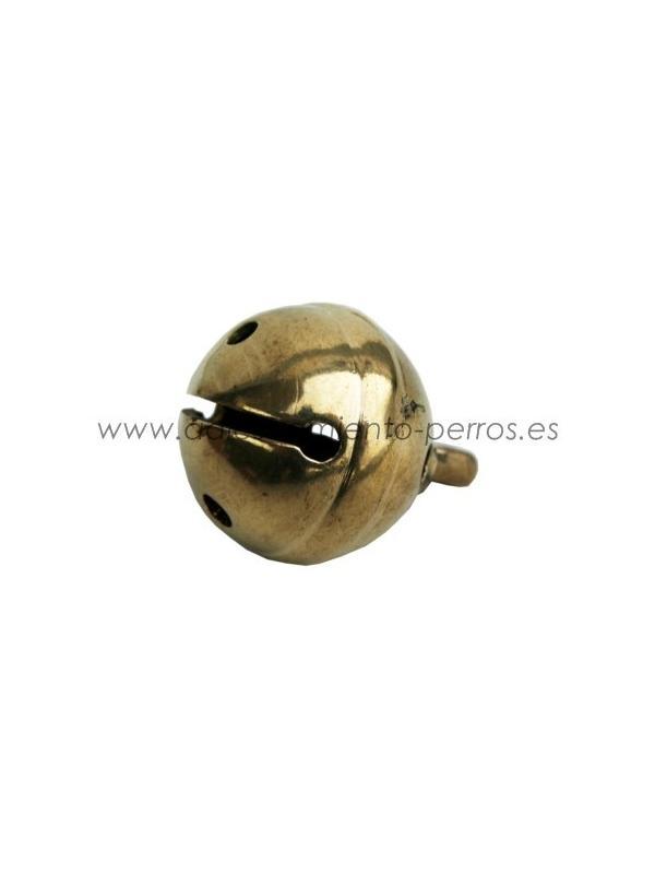 Cascabel de bronce 26 mm - Cascabel de bronce de excelente calidad 26 mm de diámetro para la localización del perro de becada y de conejo.