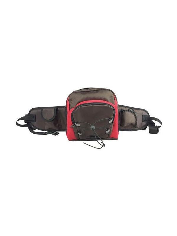 Cinturón riñonera multiusos con varios compartimentos - Cinturón riñonera multiusos para llevar cosas como clicker, premios, agua, documentación, etc. Con varios compartimentos y cinturón ajustable con cierre fácil de click.