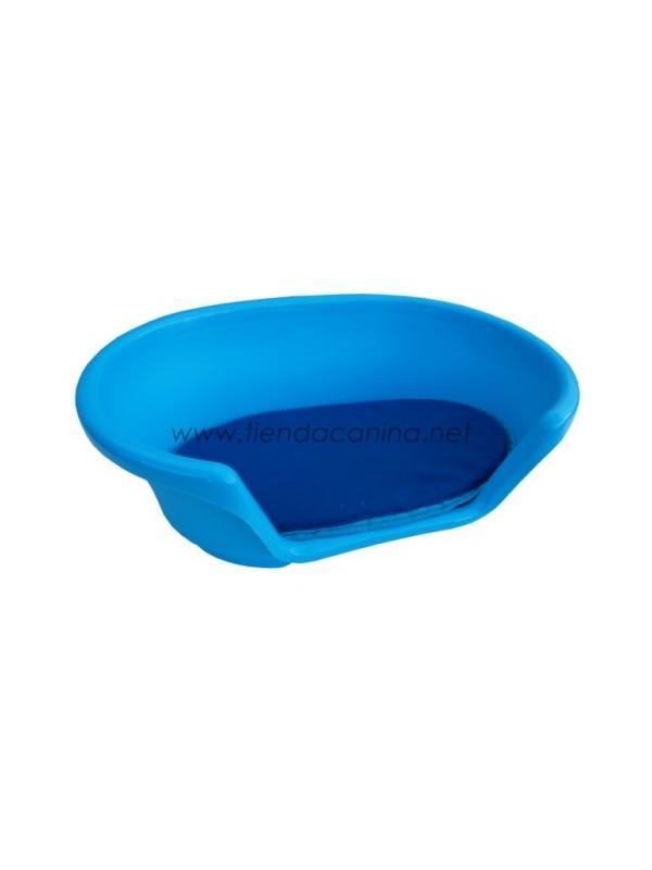 Cojín para Cuna de Plástico Cosy - Cojín para Cuna de plástico para perros Azul Cosy resistente y de gran calidad, para el descanso de perros de cualquier tamaño. Existe en 7 tamaños diferentes.