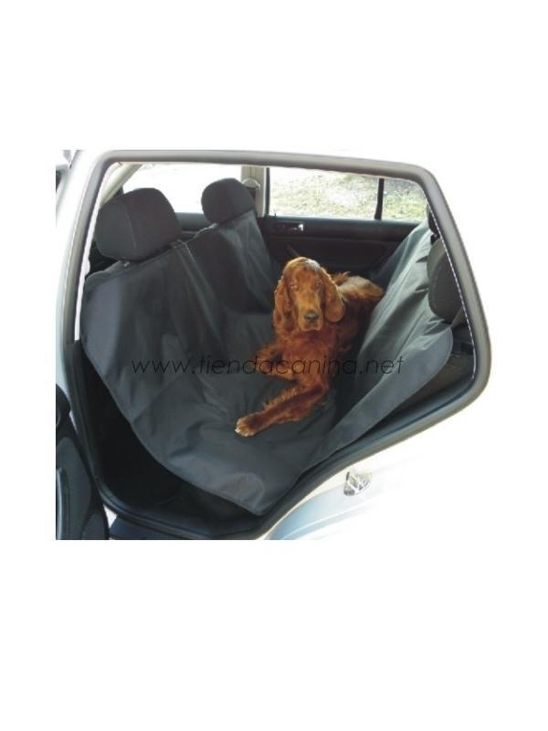 Colcha Cubre-Asientos Completa para Coche - Colcha cubre-asientos completa ideal para proteger el coche contra los pelos y la suciedad del perro cuando esté tumbado en el asiento.
